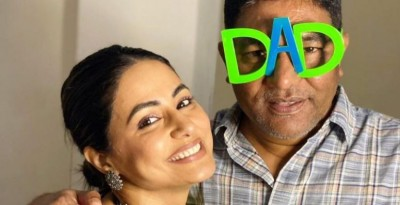 Hina Khan became emotional remembering her father, shares adorable post