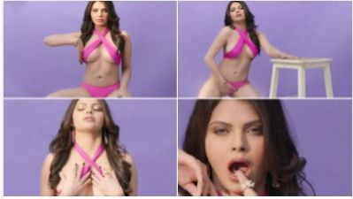 Sherlin Chopra plays with her private parts, check out the super sexy video here