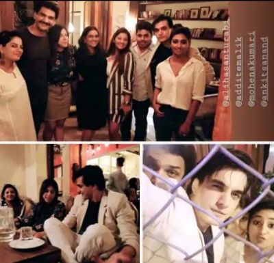 'Yeh Rishta Kya Kehlata Hai' Actor Mohsin Khan go for dinner with Co-Stars