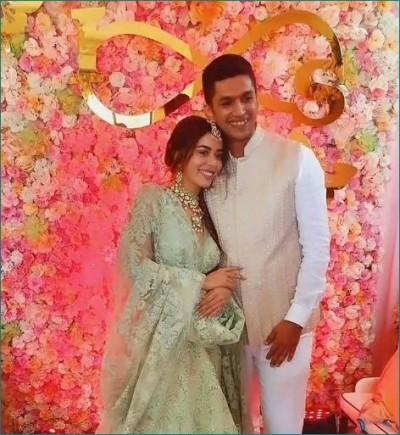 Pictures of Divya Drishti fame actress mehndi ceremony revealed