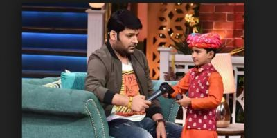 For this reason, Kapil Sharma got scolded by a kid