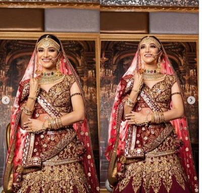 Ridhhima Pandit turns a bride; fans go crazy!