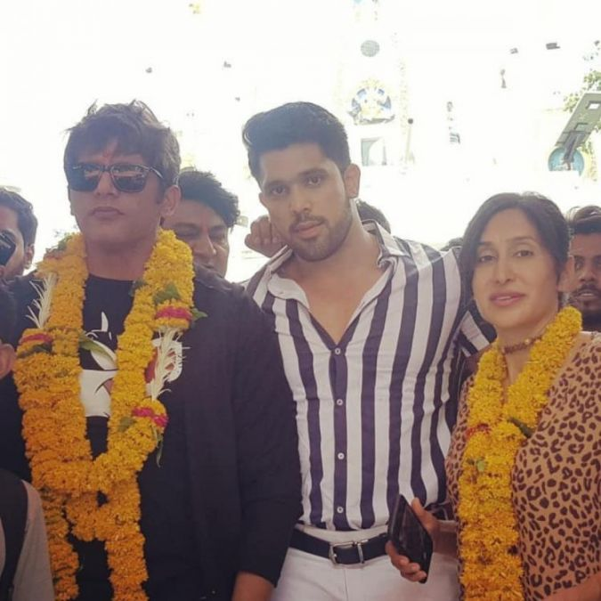 Karanvir Bohra visited this popular temple in Indore before the release of his film