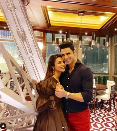 Divyanka Tripathi is spending a romantic vacation with her husband