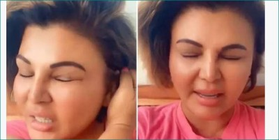 Rakhi Sawant gives message on Corona, shares video and says,