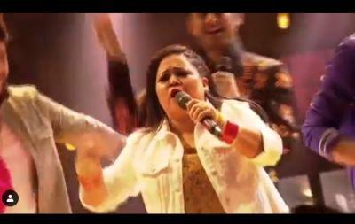 VIDEO: भारती ने जमकर उड़ाया अपने पति का मजाक, कहा- 'ये कुपोषित...'