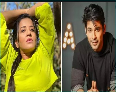Monalisa got clicked with Sidharth Shukla; Fans say