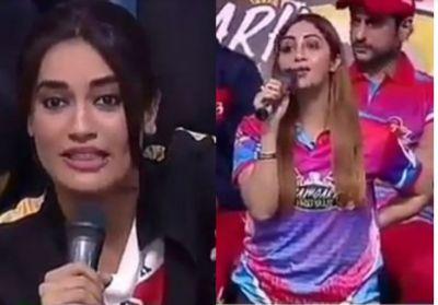 बीसीएल के दौरान अर्शी खान ने लगाई नागिन बेला को लताड़, गुस्से से हुईं लाल