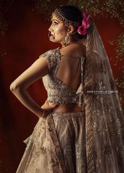 Sapna Chaudhary's bridal photo went viral