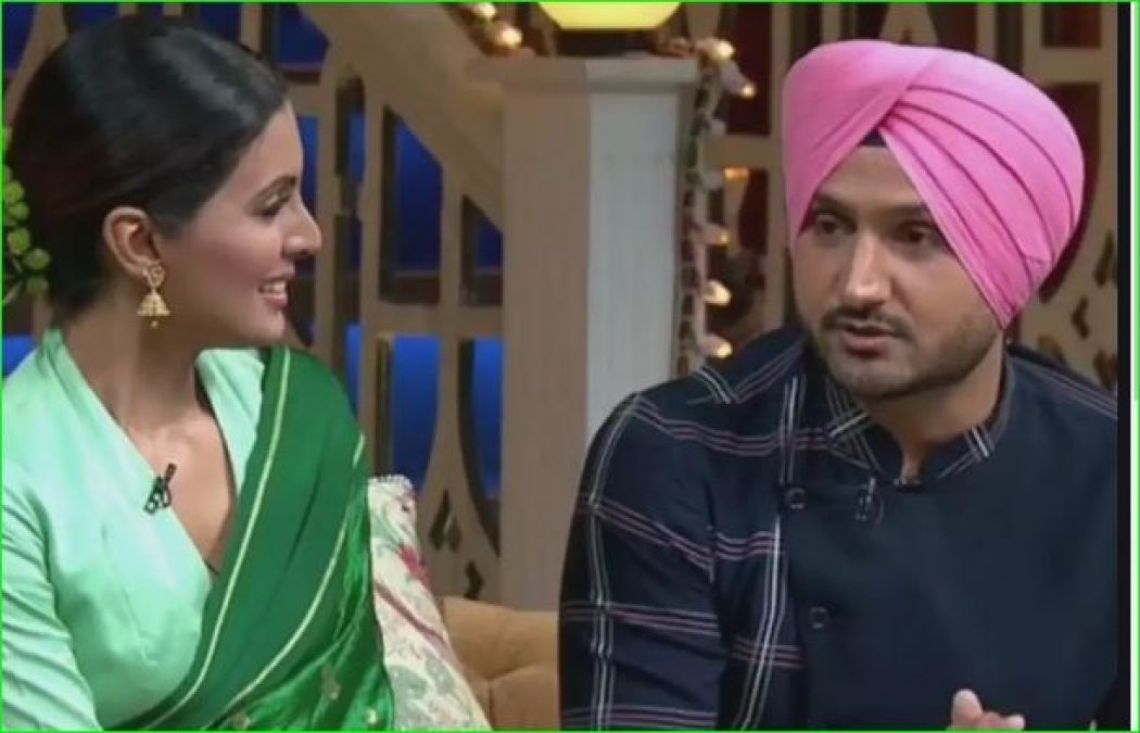 Harbhajan Singh got punishment for fighting with wife Geeta, revealed in Kapil's show