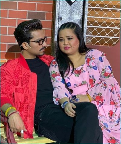 Comedian Bharti Singh did this on Karwa Chauth