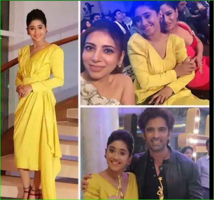 Shivangi Joshi looked very happy with Surbhi Chandna, got two awards