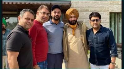 Kapil Sharma meets former co-star Navjot Singh Sidhu, shares pics