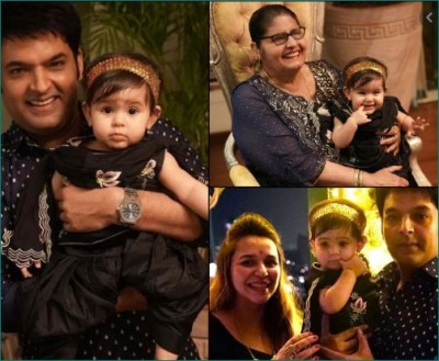 Kapil celebrated Diwali with family, pictures rocked the internet