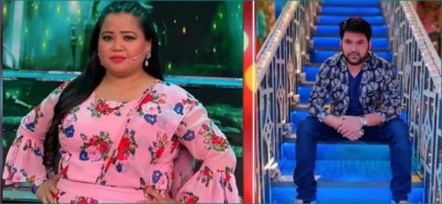 Comedian Bharti Singh thank God after bail, returns to work