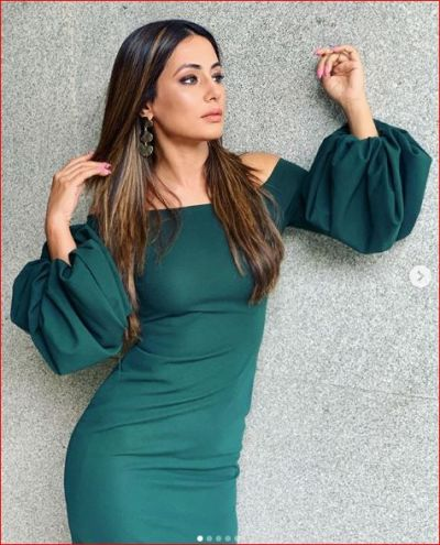 Hina Khan was seen in a very sexy look on her birthday, see photos!