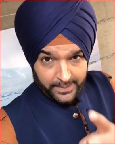 Kapil Sharma becomes Navjot Singh Siddhu, watch video here