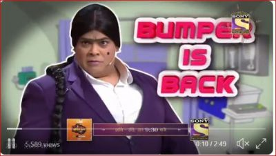 Kiku Sharda is back as Bumper on Kapil's show, audiences break into laughter