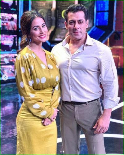 'When Miss Khan met Mr khan ', Hina Khan to make entry in Bigg Boss 13 today