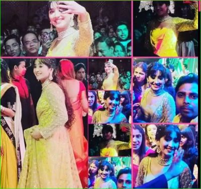 Shivangi Joshi hugged this fan of her as soon as she reached a Garba event
