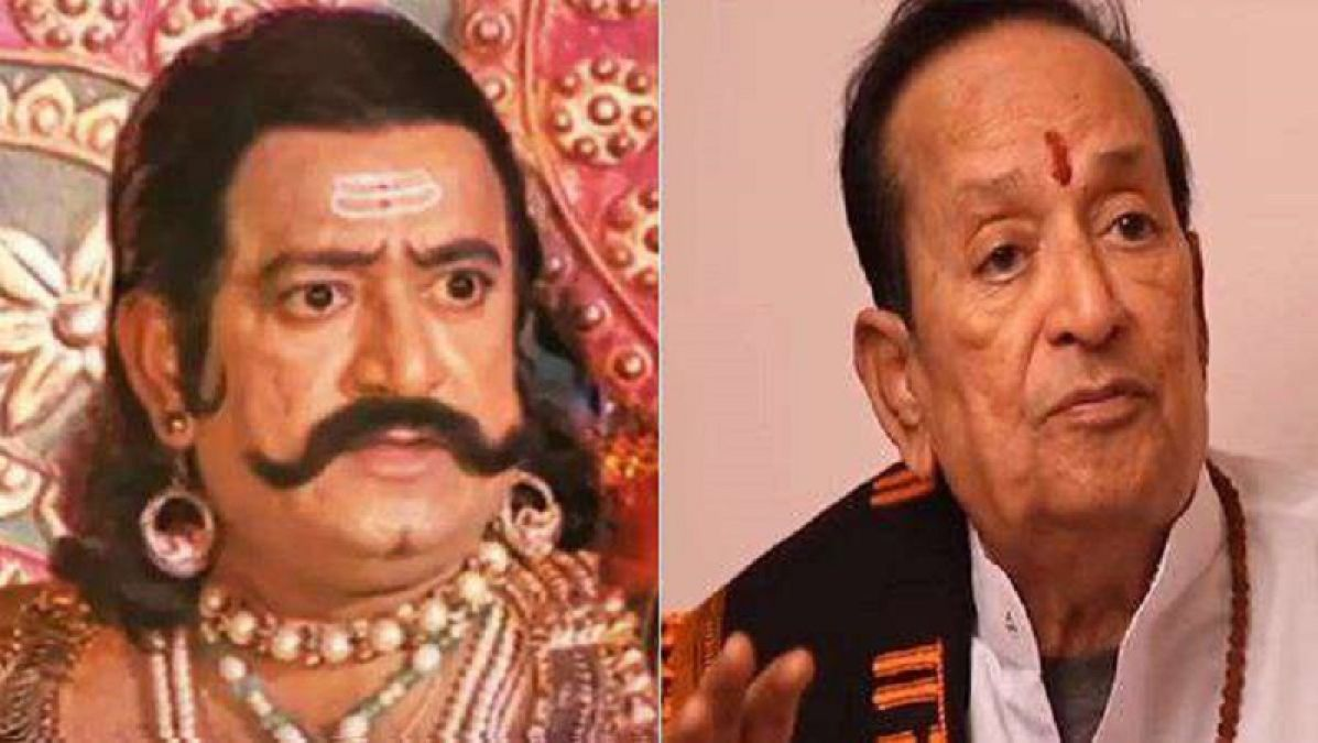 Ramanand Sagar's Ravan has become very weak, passes time by ...