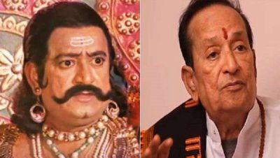 बहुत कमज़ोर हो चुका है रामानंद सागर का रावण, राम नाम के जाप में ही गुजरता है समय