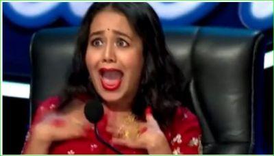 Indian Idol में कंटेस्टेंट ने गाया ऐसा गाना कि जोर-जोर से चिल्लाने लगीं नेहा कक्कड़