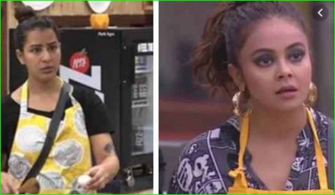 Shilpa Shinde, who got fierce on Devoleena on kitchen duty, said,