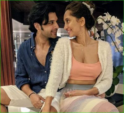 Anusha wishes her love Karan on his birthday by sharing this sexy photo