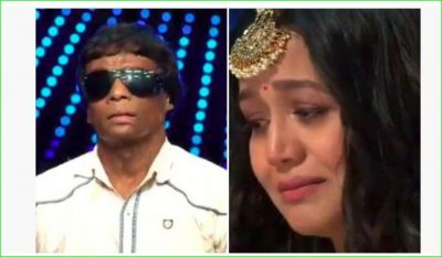 Neha Kakkar wept bitterly after hearing the story of this contestant of 'Indian Idol'