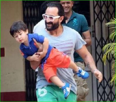 Taimur sees the trailer of this film of Dad Saif twice a day, says- 'Mujhe Mara-Mari Trailer...'