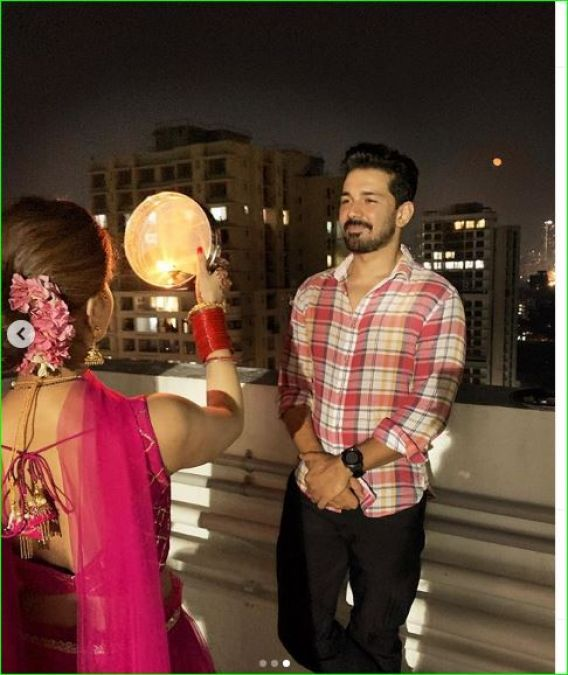 These two daughters-in-law of TV celebrated Karwachauth, see pictures