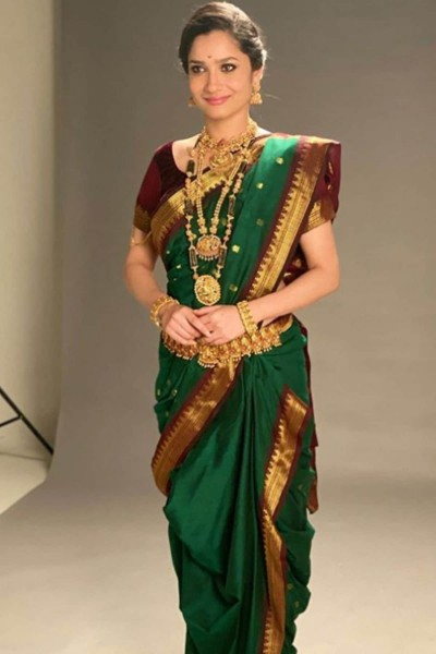 Ankita Lokhande's Marathi look surfaced, See pictures