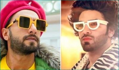 Paras Chabbra adopts Ranveer Singh's look for his new song