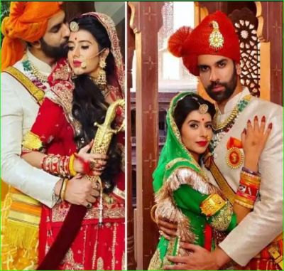 Charu Asopa did a great photoshoot in Royal Rajasthani look with husband