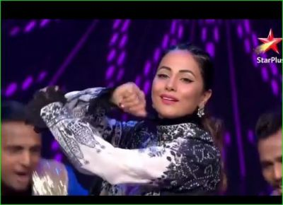 Hina Khan gave a bang performance in 'Nach Baliye 9', took a class of contestants!
