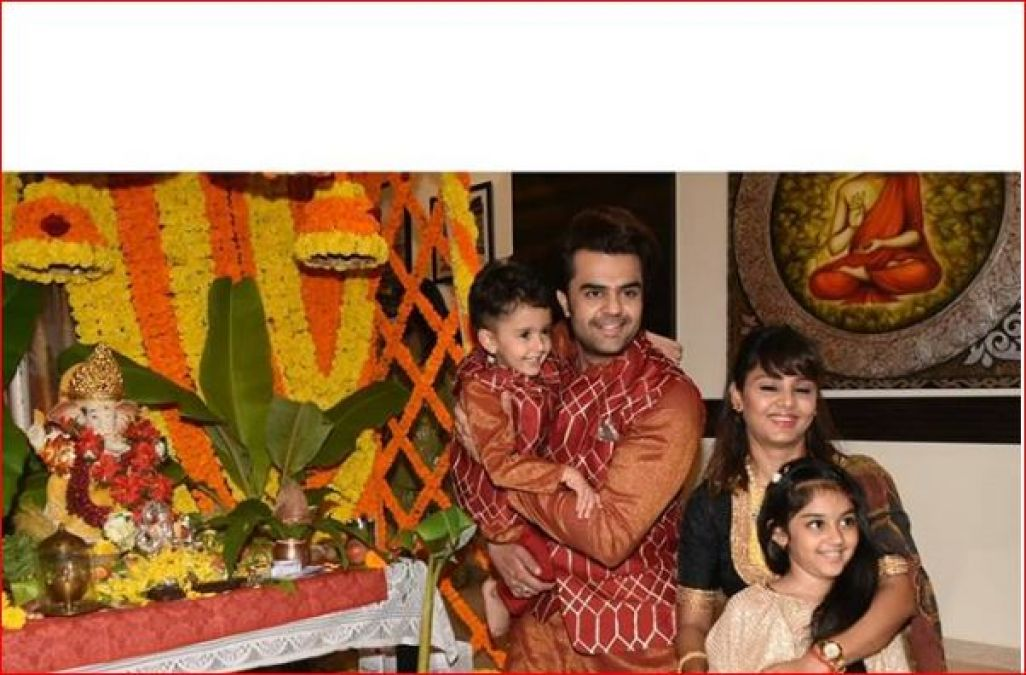 Ganpati Bappa entered this TV couple's house with great fanfare!