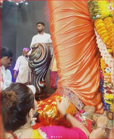Devoleena's look during Ganesh Visarjan is going viral, See picture