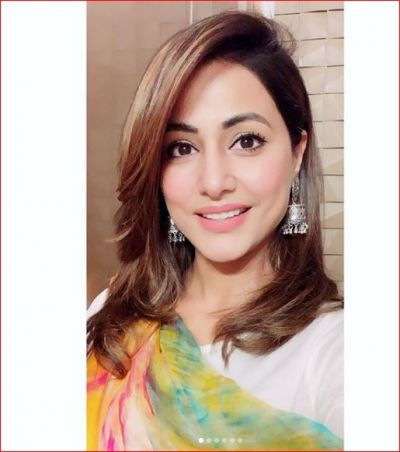 Hina Khan looked very sexy in trendy style, photo goes viral