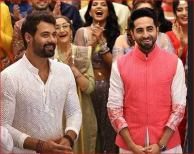 Ayushmann-Nuhsrat arrives  in 'Kumkum Bhagya' to promote 'Dream Girl' with Jeetendra