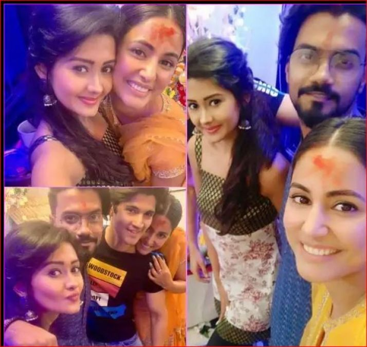 Ganesh Chaturthi: Heena Khan celebrated fiercely with son and daughter-in-law