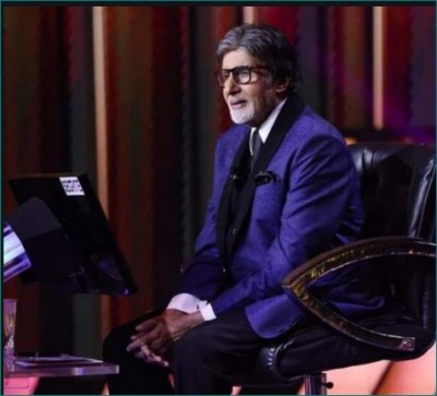Amitabh Bachchan shares picture from KBC set