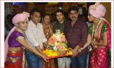 Ganesh Visarjan on the set of 'Yeh Rishte Hai Pyaar Ke' show, pictures goes viral