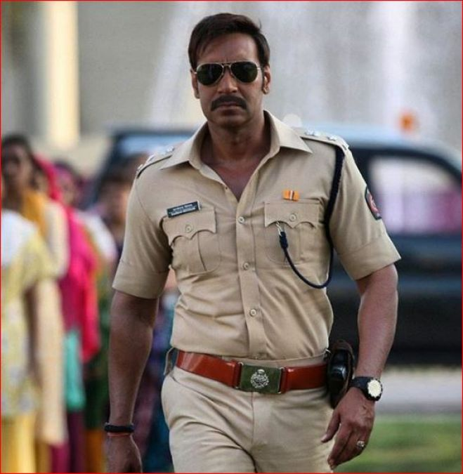Ajay Devgn's shirtless picture sets fire, soon to play a soldier in this movie