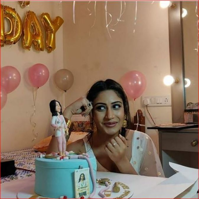 This is how Ishqbaaz actress Surbhi Chandna celebrated her birthday