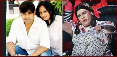 Kiku Sharda's wife gets agitated after seeing him in a female dress, said- 'Don't come home like this ...'