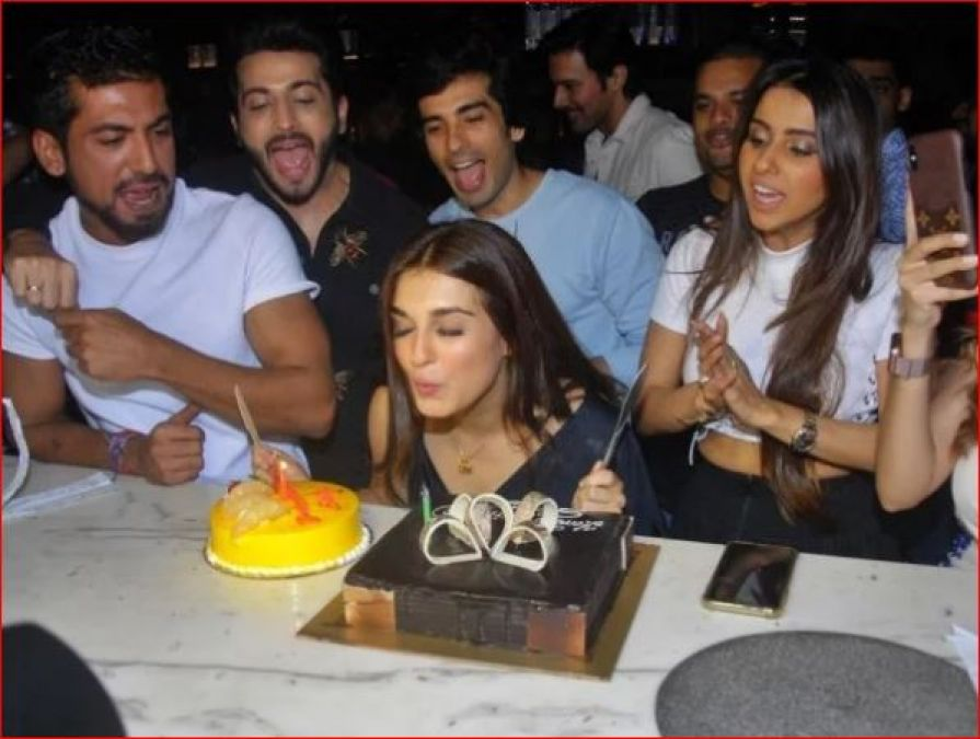 In this way, Radha of TV celebrated her birthday