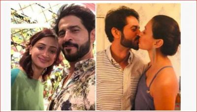 Hiten Tejwani wished a happy birthday to his wife by lip-locking