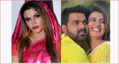 Rakhi Sawant, who came in support of Bhojpuri star Pawan, said: 'In a closed room with Akshara...'