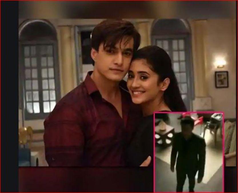 'ये रिश्ता...' के सेट पर मोहसिन के साथ हुआ कुछ ऐसा हादसा कि शिवांगी ने बना लिया वीडियो